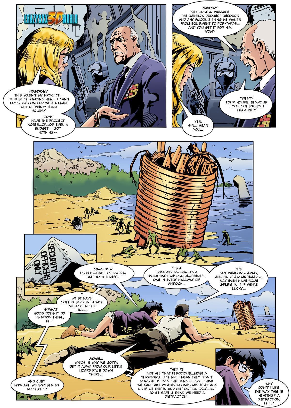 3d comic the philadelphia project episode 3 3