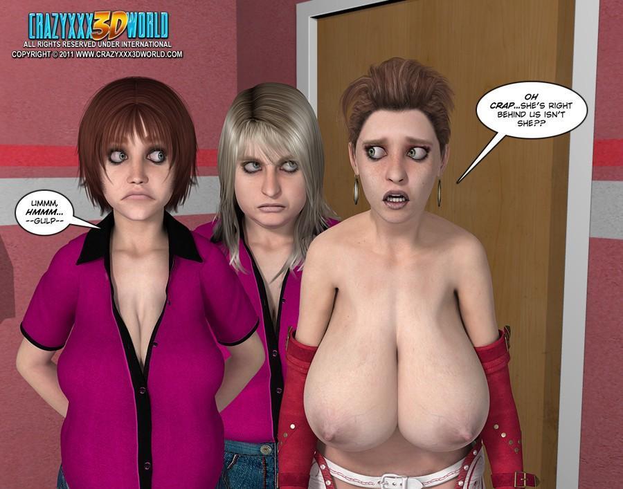 Смотреть 3d comic uninhibited 1