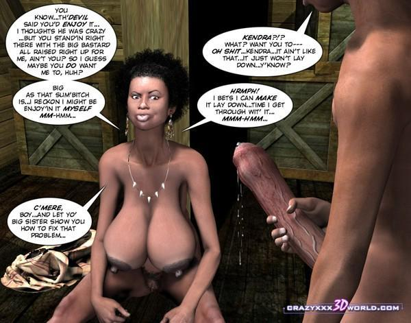 3d comic clara ravens episode 3 Part 8